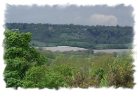 View of some of the surrounding countryside at Gate House Wood Touring Park